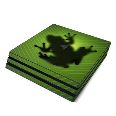 Sony PS4 Pro Skin - Frog