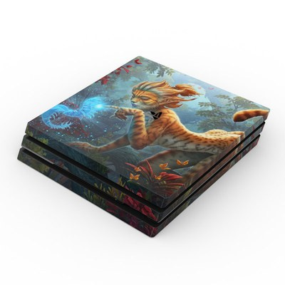Sony PS4 Pro Skin - Ghost Centipede