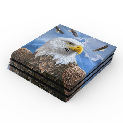 Sony PS4 Pro Skin - Guardian Eagle