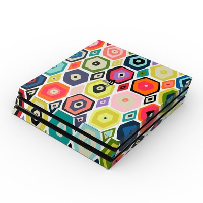 Sony PS4 Pro Skin - Hex Diamond