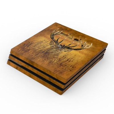 Sony PS4 Pro Skin - Hiding Buck