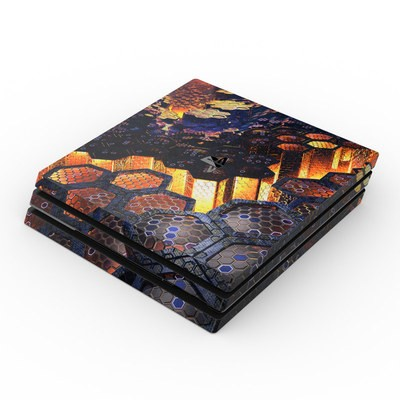 Sony PS4 Pro Skin - Hivemind