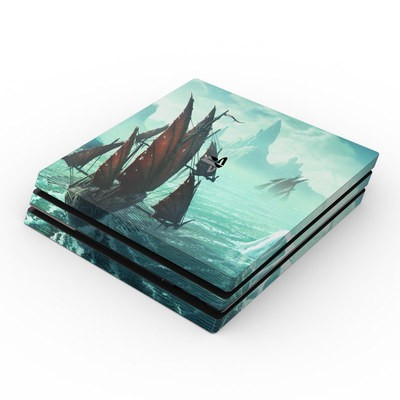 Sony PS4 Pro Skin - Into the Unknown