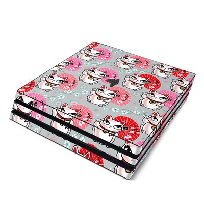 Sony PS4 Pro Skin - Kyoto Kitty