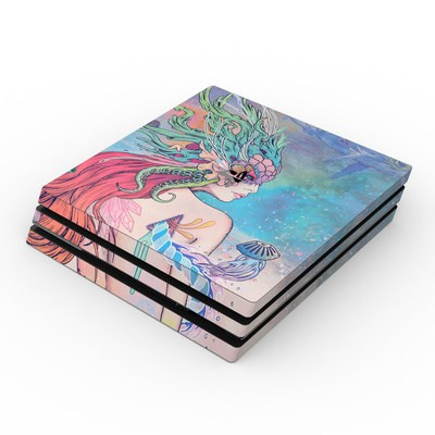 Sony PS4 Pro Skin - Last Mermaid