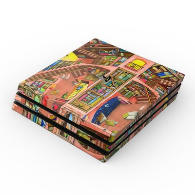 Sony PS4 Pro Skin - Library Magic