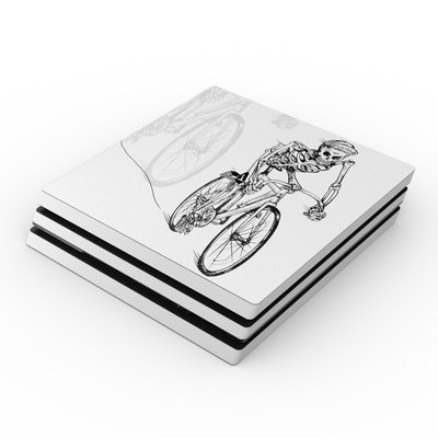 Sony PS4 Pro Skin - Lone Rider