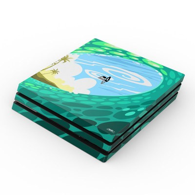 Sony PS4 Pro Skin - Lunch Break