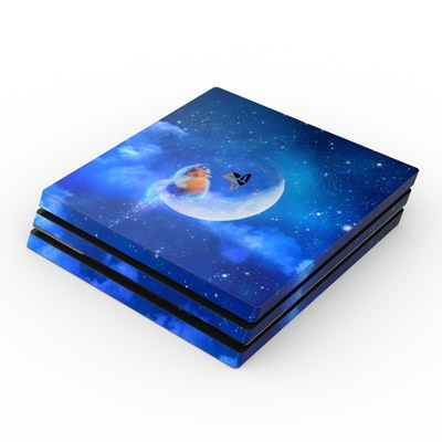 Sony PS4 Pro Skin - Moon Fox
