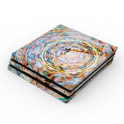Sony PS4 Pro Skin - Mystical Medallion