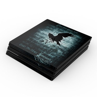 Sony PS4 Pro Skin - Nevermore