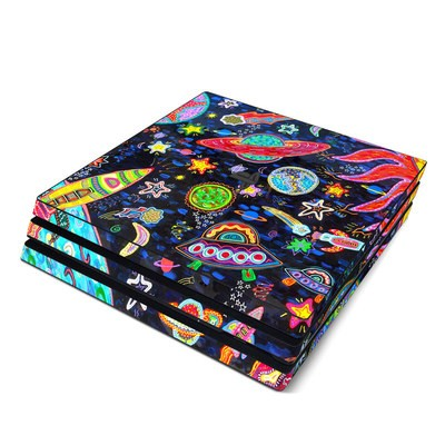 Sony PS4 Pro Skin - Out to Space
