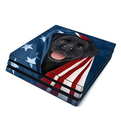 Sony PS4 Pro Skin - Patriotic Lab