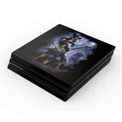 Sony PS4 Pro Skin - Play Dead