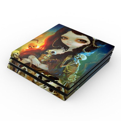 Sony PS4 Pro Skin - Princess of Bones