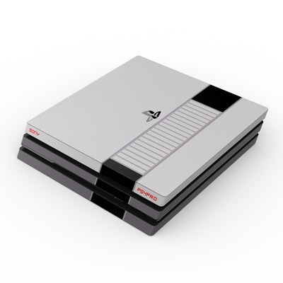 Sony PS4 Pro Skin - Retro Horizontal