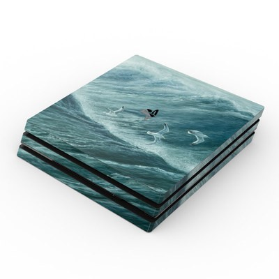 Sony PS4 Pro Skin - Riding the Wind