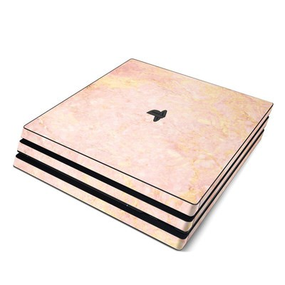 Sony PS4 Pro Skin - Rose Gold Marble