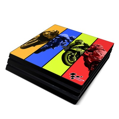 Sony PS4 Pro Skin - Race Panels