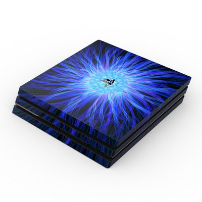 Sony PS4 Pro Skin - Something Blue