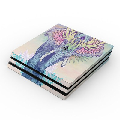 Sony PS4 Pro Skin - Spirit Elephant