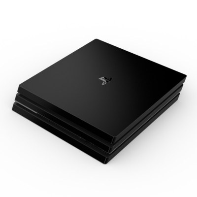 Sony PS4 Pro Skin - Solid State Black