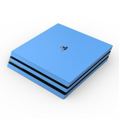 Sony PS4 Pro Skin - Solid State Blue