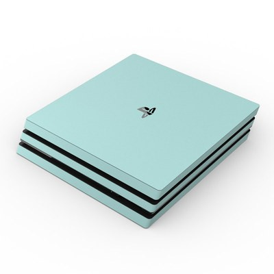 Sony PS4 Pro Skin - Solid State Mint