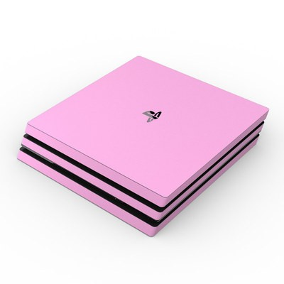 Sony PS4 Pro Skin - Solid State Pink