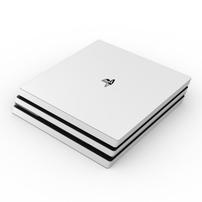 Sony PS4 Pro Skin - Solid State White