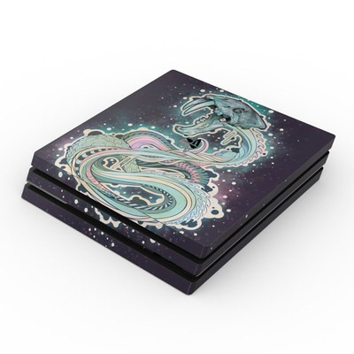 Sony PS4 Pro Skin - Saber-Toothed Serpent