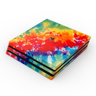 Sony PS4 Pro Skin - Tie Dyed