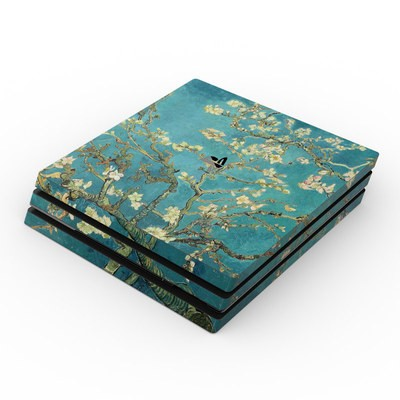 Sony PS4 Pro Skin - Blossoming Almond Tree