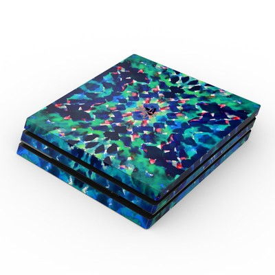 Sony PS4 Pro Skin - Water Dream