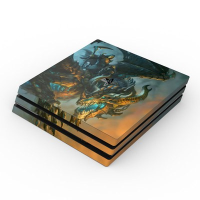 Sony PS4 Pro Skin - Wings of Death