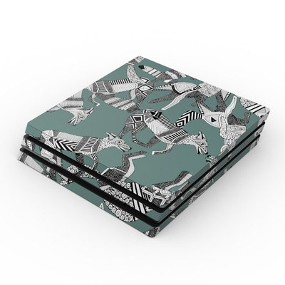 Sony PS4 Pro Skin - Woodland Fox