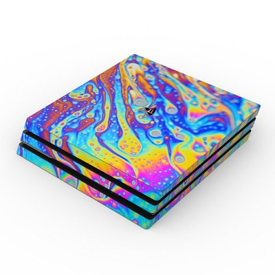 Sony PS4 Pro Skin - World of Soap