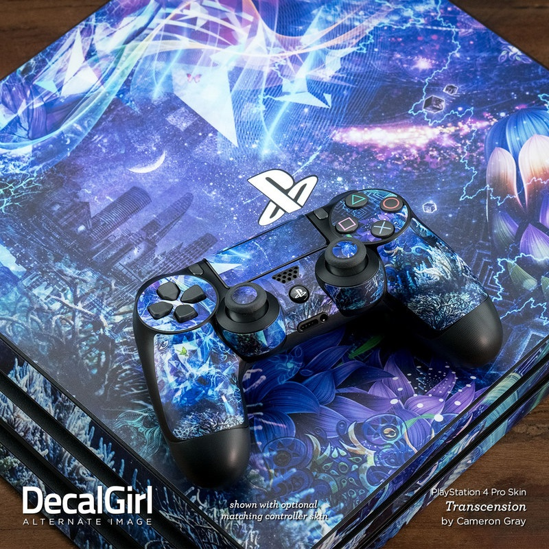 sony ps4 pro skin dark rosewood decalgirl