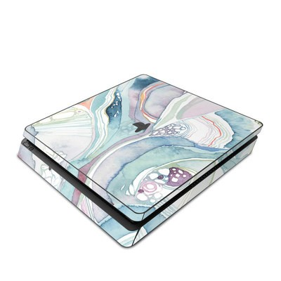 Sony PS4 Slim Skin - Abstract Organic