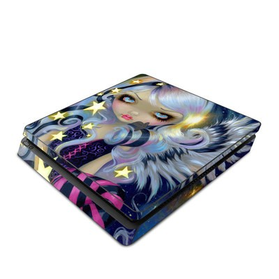 Sony PS4 Slim Skin - Angel Starlight