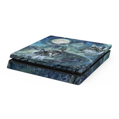 Sony PS4 Slim Skin - Bark At The Moon