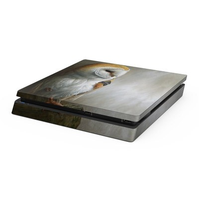Sony PS4 Slim Skin - Barn Owl