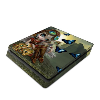 Sony PS4 Slim Skin - Clockwork Dragonling