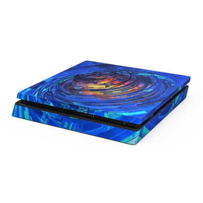 Sony PS4 Slim Skin - Clockwork