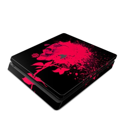 Sony PS4 Slim Skin - Dead Rose