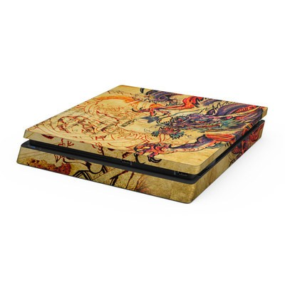 Sony PS4 Slim Skin - Dragon Legend