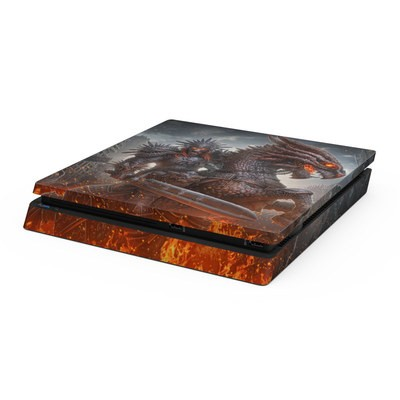 Sony PS4 Slim Skin - Horseman