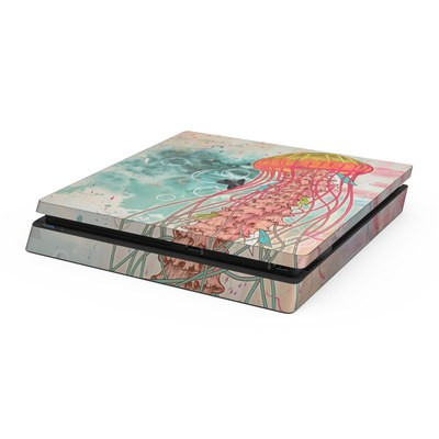 Sony PS4 Slim Skin - Jellyfish