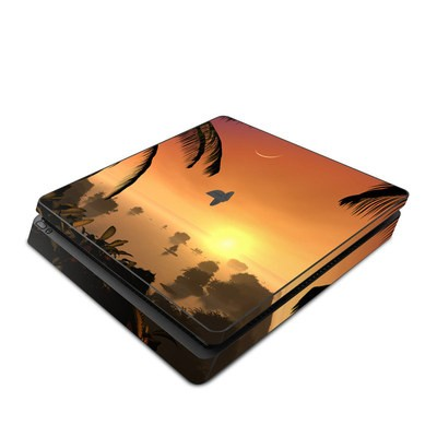 Sony PS4 Slim Skin - Last Light Of The Sun