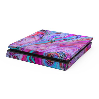 Sony PS4 Slim Skin - Marbled Lustre